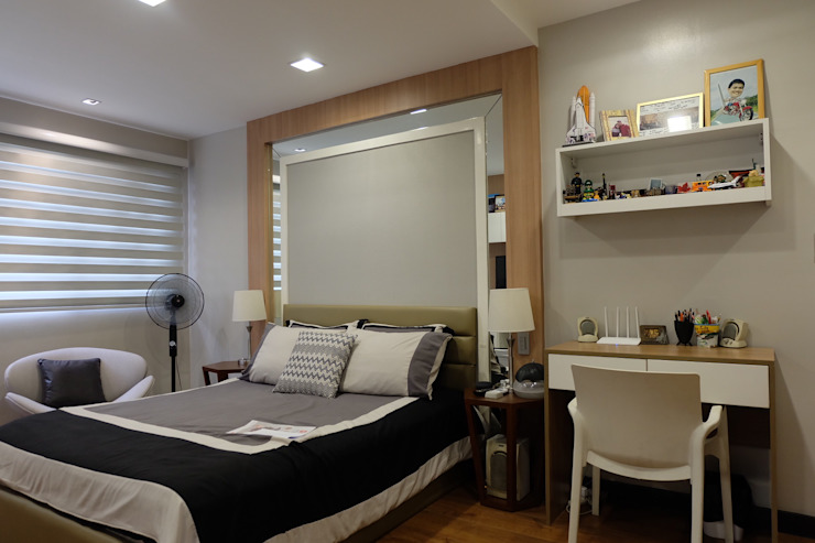 2BR Condo @ East Horizon, Ortigas Modern conservatory by D3ID Design and Build Modern