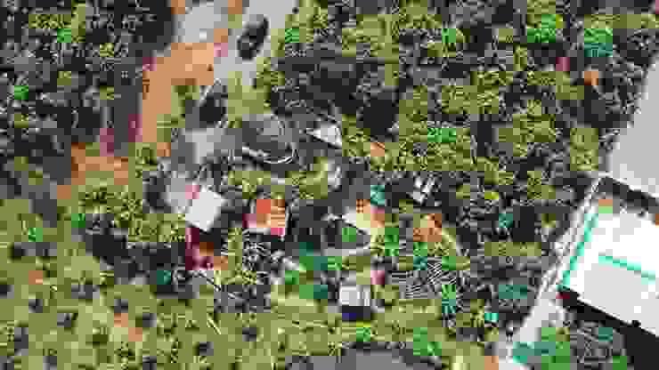 An's Garden bởi Công ty TNHH TM DV BĐS An Tường Đồng quê Gỗ Wood effect
