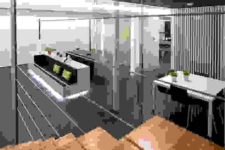 Smart Business Minimalist living room Black