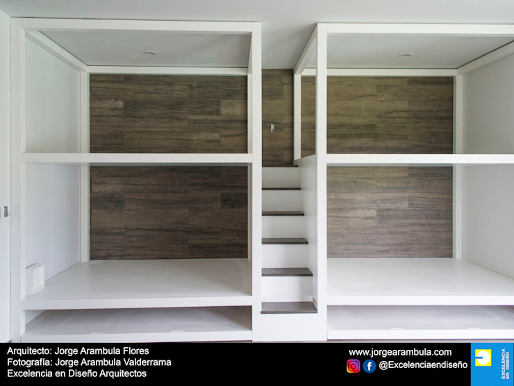 Residencia Copal Excelencia en Diseño Dormitorios infantiles modernos