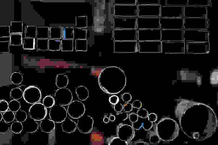 Nuestros Procesos Bodegas de estilo industrial de MECANO Industrial