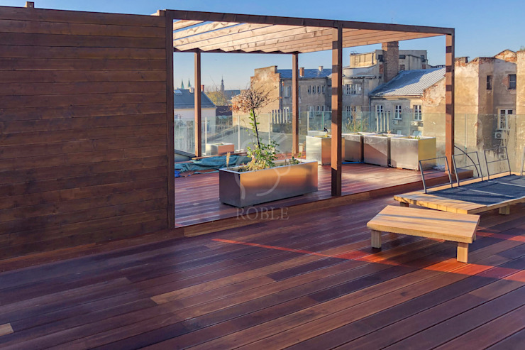 Roble Modern terrace
