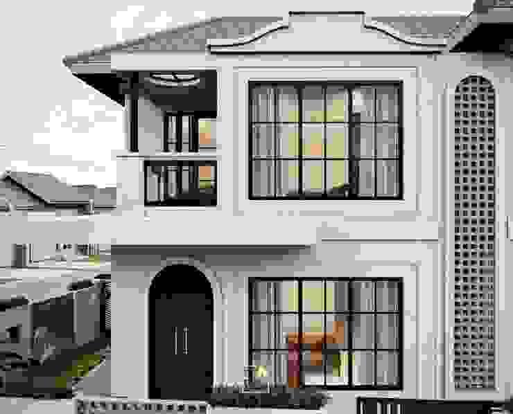 by Rancang Reka Ruang Mediterranean Concrete