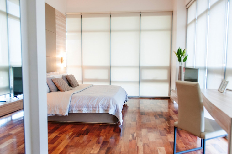 The Residences At Greenbelt Modern style bedroom by D3ID Design and Build Modern