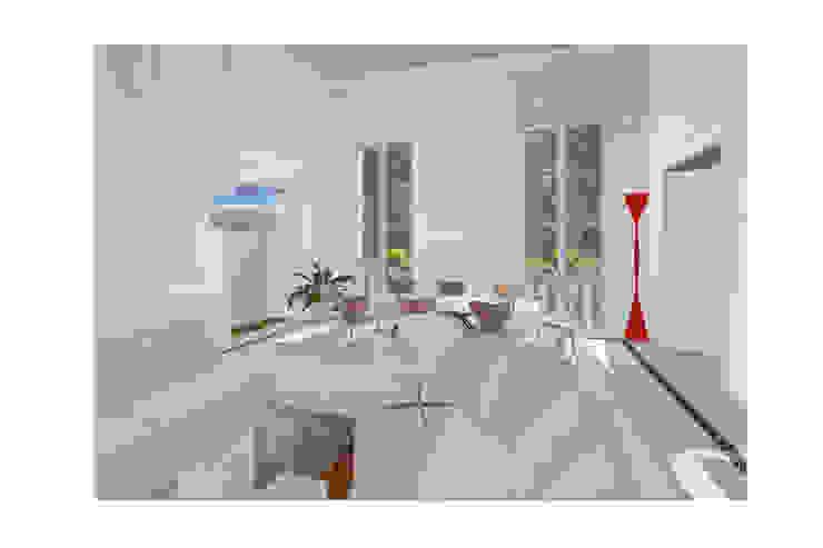Abitazione al piano nobile Studio Dalla Vecchia Architetti Soggiorno moderno