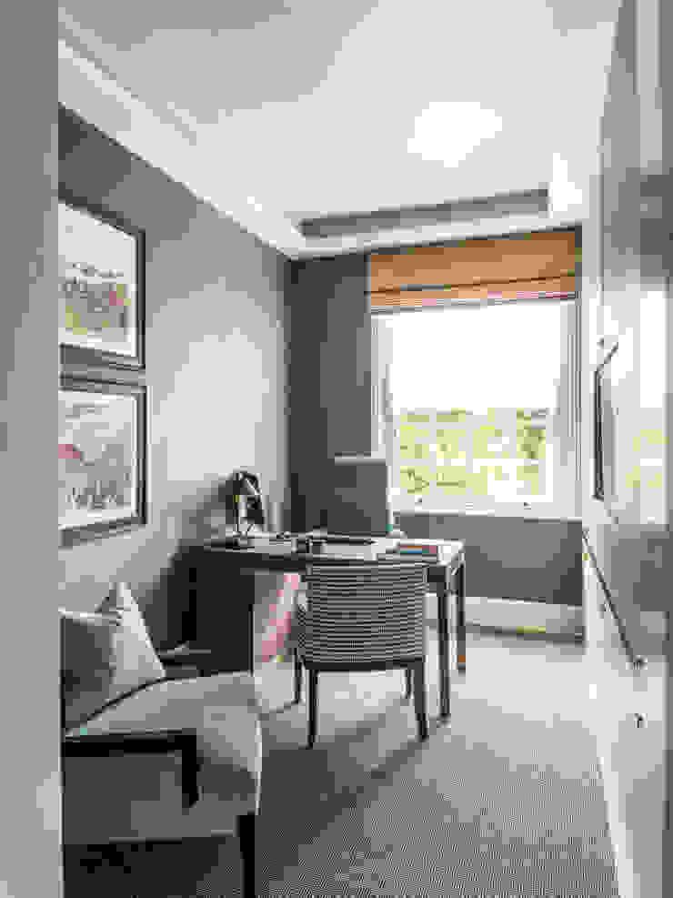 Carlton Hill, Study / Home Office Roselind Wilson Design Oficinas y bibliotecas de estilo clásico
