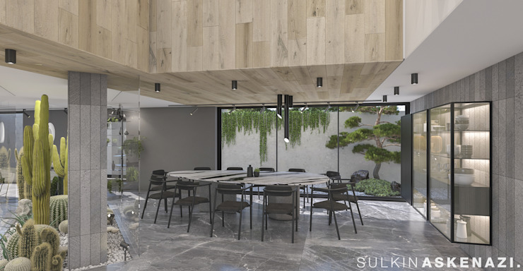 Modern Yemek Odası Sulkin Askenazi Modern