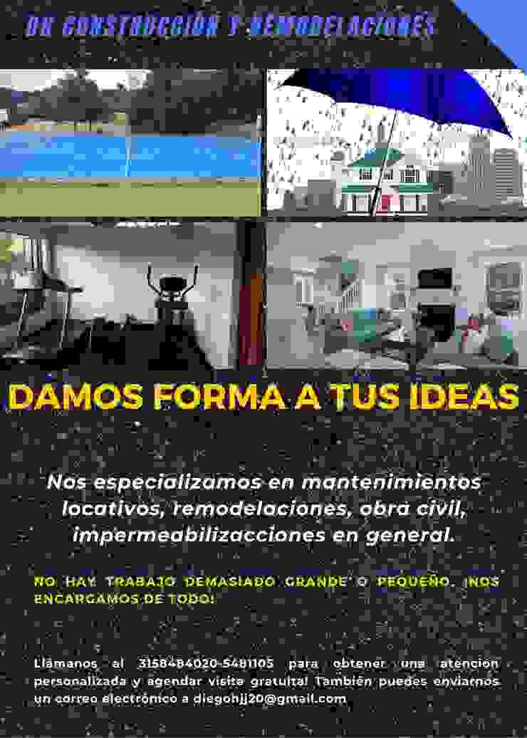 servicios de DH CONSTRUCCIÓN Y REMODELACIONES