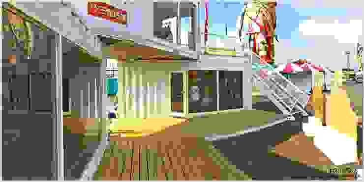 一樓戶外廊道 根據 光合作用設計有限公司 現代風