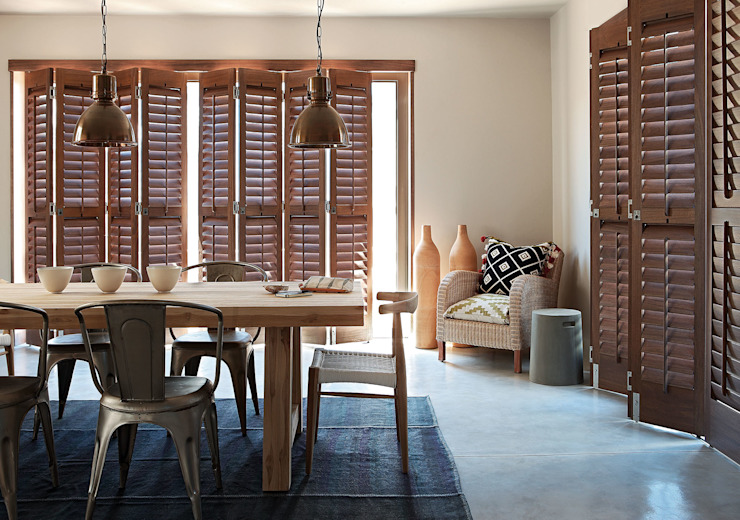 Plantation Shutters® Country style dining room