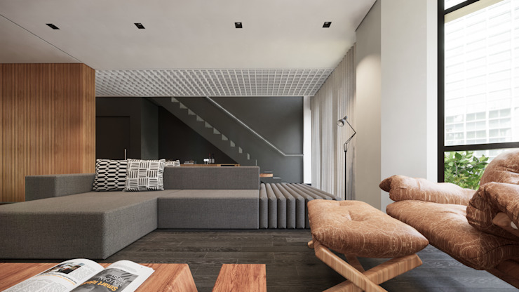by Saulo Magno Arquiteto Minimalist Wood Wood effect