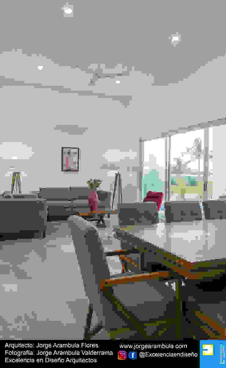 Casa Alejandra Comedores modernos de Excelencia en Diseño Moderno