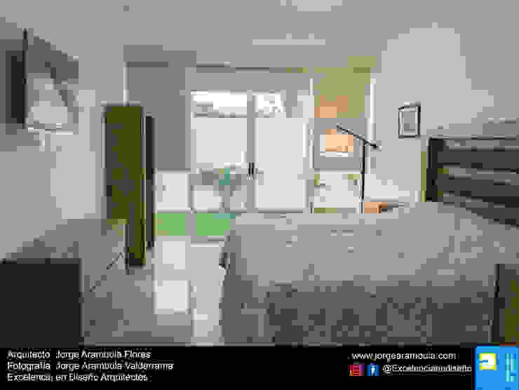 Casa Alejandra Dormitorios modernos de Excelencia en Diseño Moderno