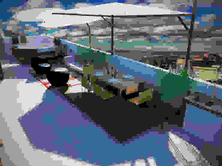 Diseño y ambientación de azotea Rbritointeriorismo Azoteas