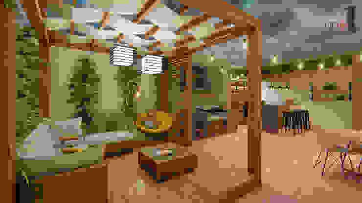 Punto Uno Arquitectos Modern Terrace