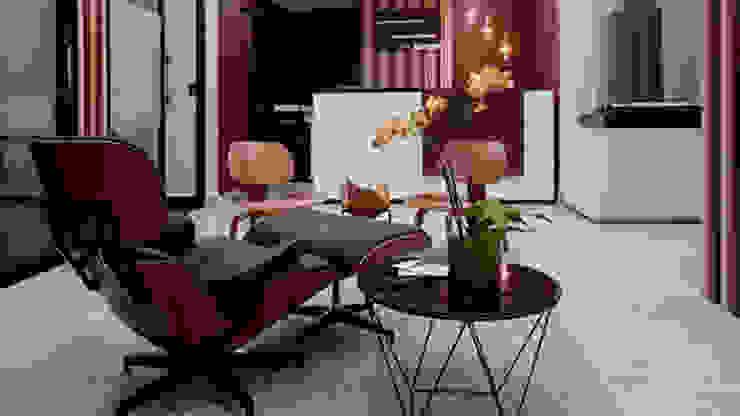 Indigo Creative Studio Offices & stores Wood Purple/Violet