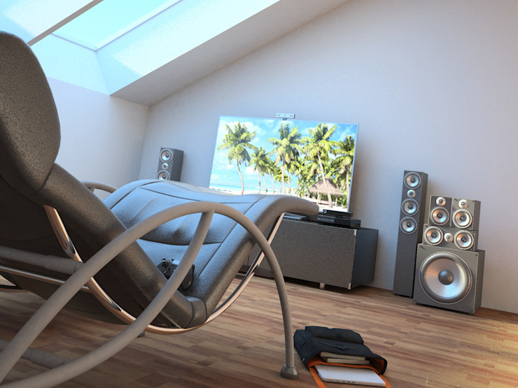 Modern Bedroom by JIMDR Arquitectos Modern
