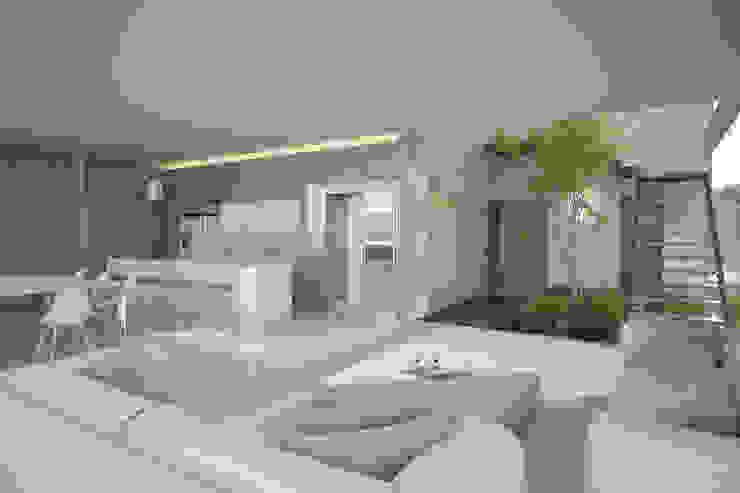 Sala de Estar 21arquitectos Salones de estilo minimalista