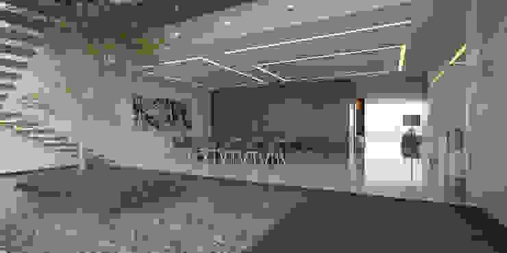 21arquitectos Minimalist dining room