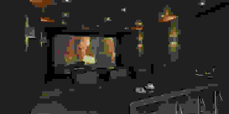 21arquitectos Minimalist media room