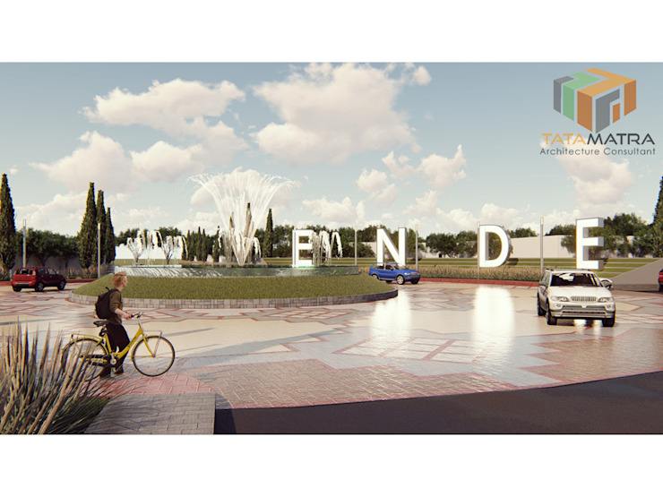 Simpang Lima Bandara Ende Oleh PT Tata Matra Indonesia