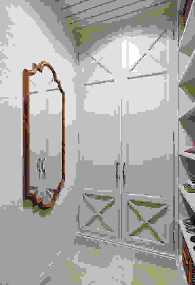 MARION STUDIO Mediterranean style dressing room Beige