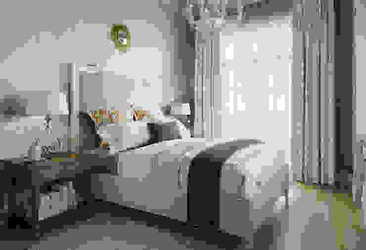 MARION STUDIO Mediterranean style bedroom Beige
