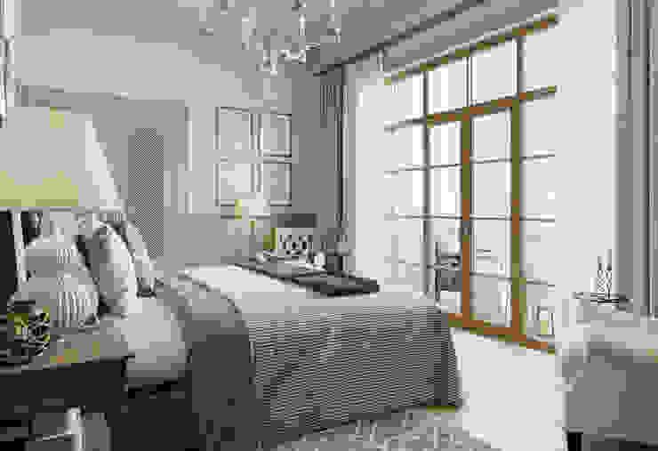 MARION STUDIO Mediterranean style bedroom