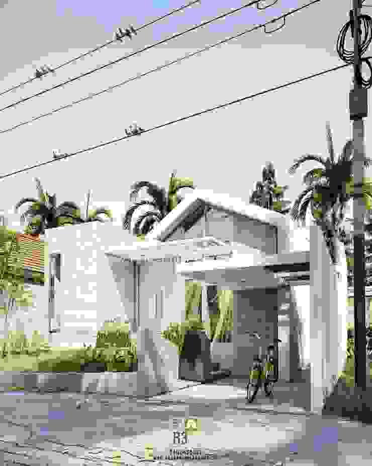 Omah Q-Nanthi - Ibu Novi - Bantul, Yogyakarta Oleh Rancang Reka Ruang Minimalis Beton