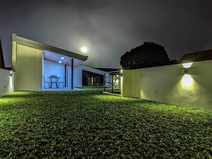 Green roof - a special feature of the house by JAAL Builders Scandinavian