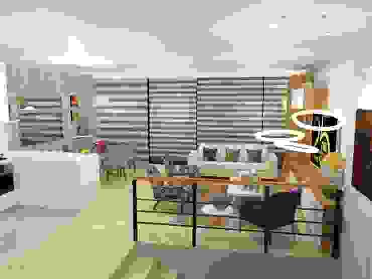 Omar Interior Designer Salas modernas de Omar Interior Designer Empresa de Diseño Interior, remodelacion, Cocinas integrales, Decoración Moderno