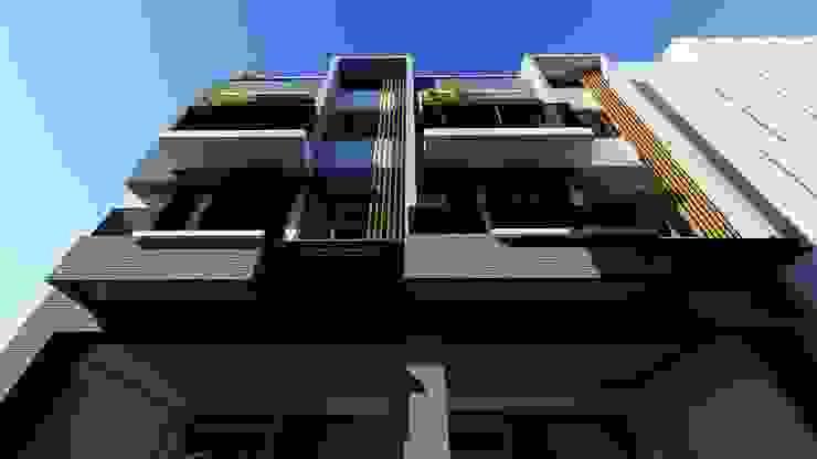 裕國森邸 現代房屋設計點子、靈感 & 圖片 根據 尋樸建築師事務所 現代風