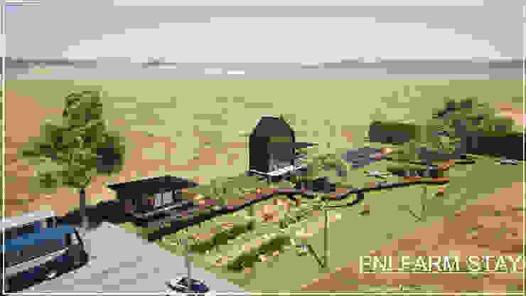 รับเขียนแบบบ้าน&ออกแบบบ้าน Casas de estilo rural