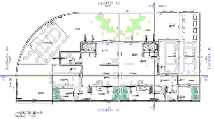 Projeto Arquitetônico - Pavimento Térreo Parro Engenharia e Projetos Pavimentos