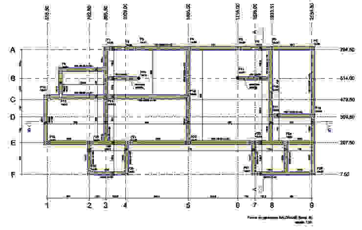 Projeto Estrutural - Fôrmas Baldrame Parro Engenharia e Projetos Pavimentos