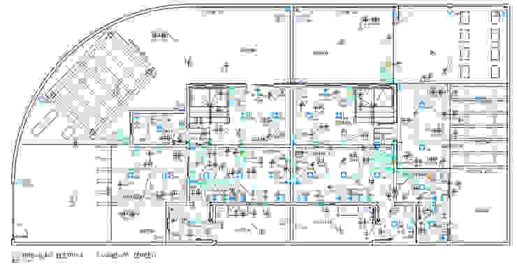 Projeto Elétrico - Distribuição Elétrica Pavimento Térreo Parro Engenharia e Projetos Pavimentos