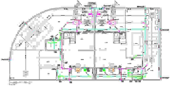 Projeto Hidrossanitário - Pavimento Térreo Parro Engenharia e Projetos Pavimentos