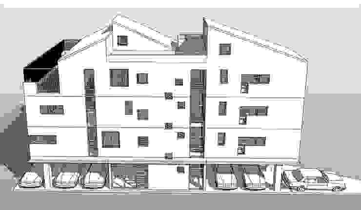 울산광역시 남구무거동00근린상가주택 신축공사 by 본 건축사사무소