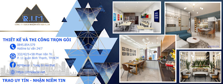 RIM Decor bởi Công ty trang trí nội thất RIM Decor