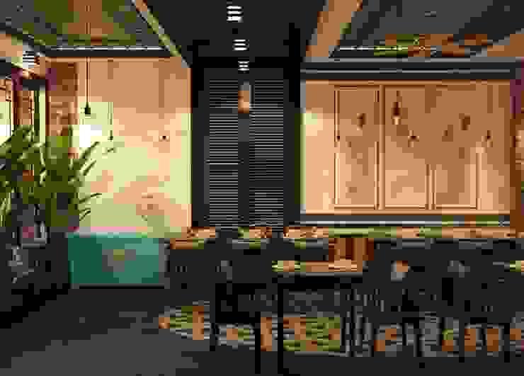 Thiết kế nội thất nhà hàng CO CO Á bởi Công ty trang trí nội thất RIM Decor