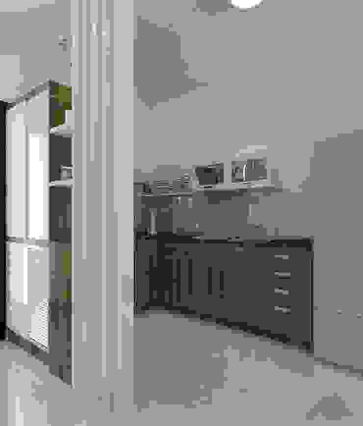Trang trí nội thất căn hộ Vista Verde Apartment Nhà bếp phong cách hiện đại bởi Công ty trang trí nội thất RIM Decor Hiện đại