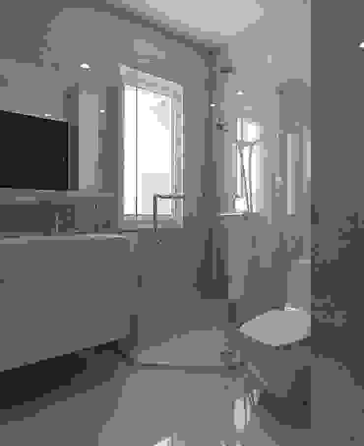Trang trí nội thất căn hộ Vista Verde Apartment Phòng tắm phong cách hiện đại bởi Công ty trang trí nội thất RIM Decor Hiện đại