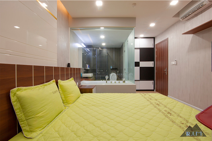 Modern Bedroom by Công ty trang trí nội thất RIM Decor Modern