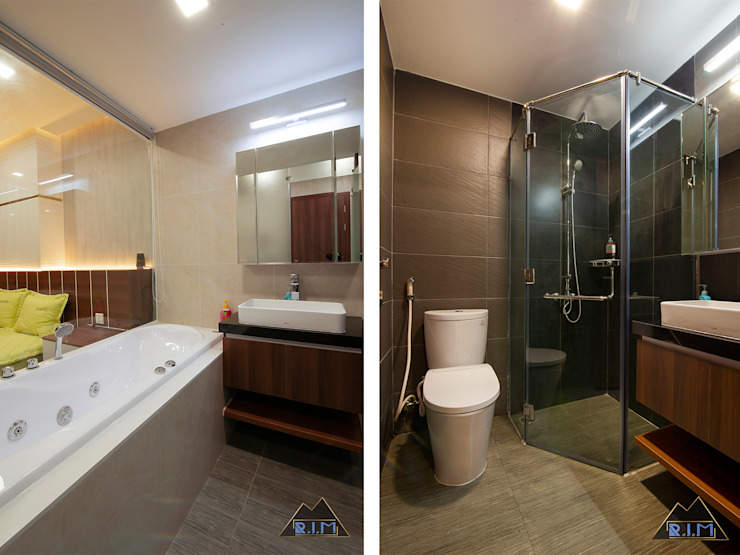Modern Bathroom by Công ty trang trí nội thất RIM Decor Modern