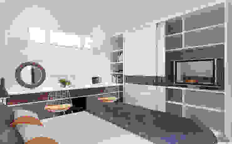 Thiết kế nội thất căn hộ Lexington Apartment Phòng ngủ phong cách kinh điển bởi Công ty trang trí nội thất RIM Decor Kinh điển