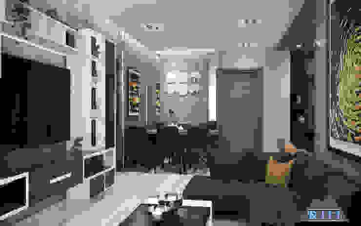 Thiết kế nội thất căn hộ Xi Grand Court Apartment bởi Công ty trang trí nội thất RIM Decor Hiện đại