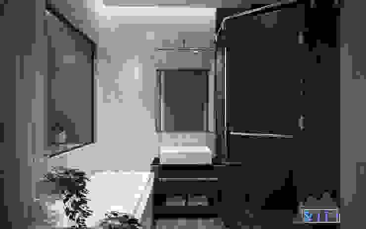 Thiết kế nội thất căn hộ Xi Grand Court Apartment Phòng tắm phong cách hiện đại bởi Công ty trang trí nội thất RIM Decor Hiện đại