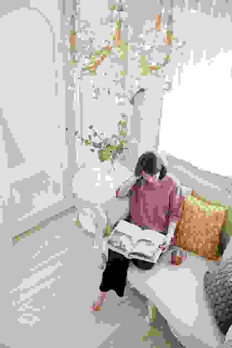 仰望-七坪 三房一廳一衛 古典唯美居家 根據 酒窩設計 Dimple Interior Design 古典風