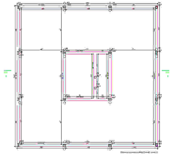Projeto Estrutural - Fôrmas do Baldrame Parro Engenharia e Projetos