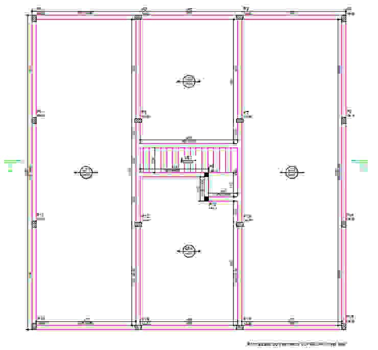 Projeto Estrutural - Distribuição de Laje Parro Engenharia e Projetos